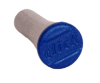 10-8237 Plastknopp till click 3 grå/bl