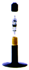 Rullstolsslang 25-489 A/V 40 mm