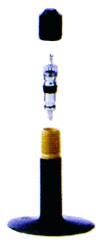 Rullstolsslang 37-501 A/V 40 mm