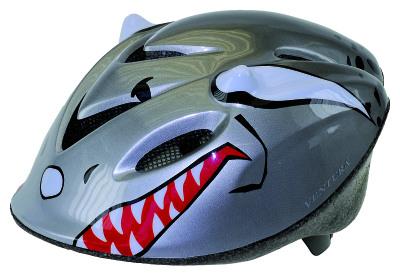Cykelhjälm, Silver barnmodell