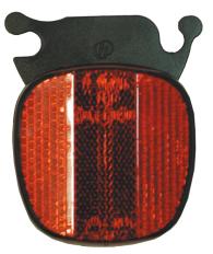 Reflex bak med snäppfäste