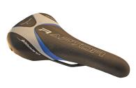 Sadel Bassano Raptor Silver/blå/svart 270 x 150