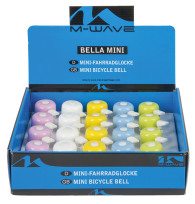 78-1640 Ringklocka, mini, Pastell 20st i display