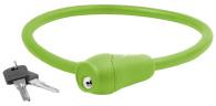 10-1263 Wirelås grön siliconhölje 12 x 600mm