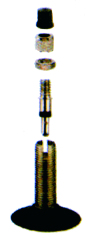 70-2815 25/32-622/630 Cykelventil 40mm