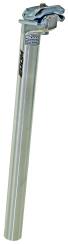 Sadelstolpe 27,2 mm 350 mm,silver