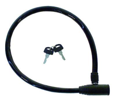 10-1249 Wirelås, 60cm Svart