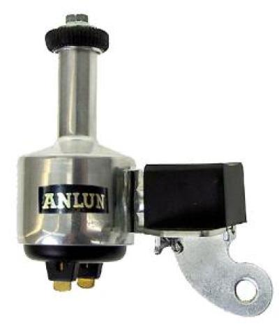 Dynamo, höger aluminium 6V/3W